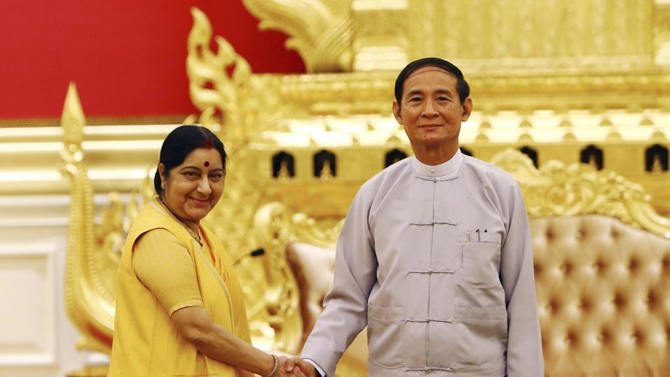India, Myanmar sign 7 MoUs