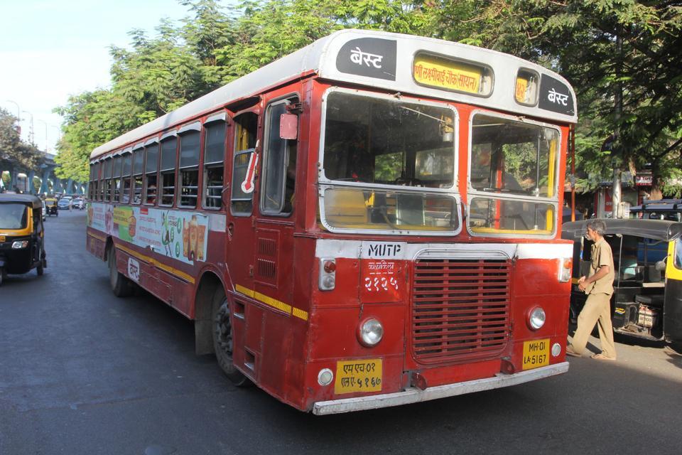 BEST,BEST bus,Mumbai