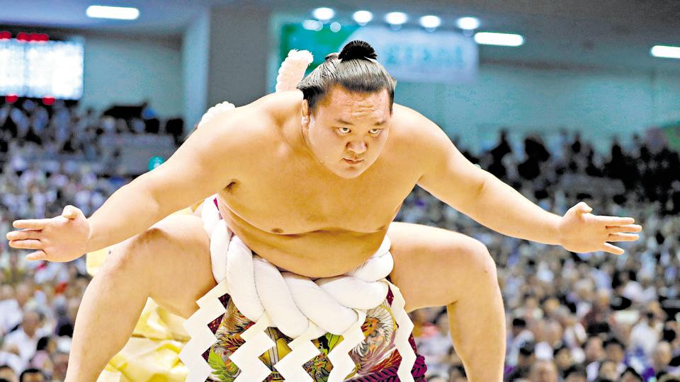 sumo,sumo wrestling,hakuho sho