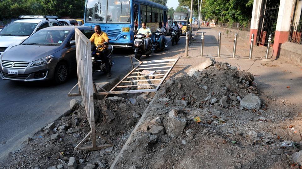 Abhijit Deshpande, site engineer, Pune Municipal Corporation (PMC), was intimated that damage was caused to the road between IDBI road and Pan Card Club road by Tata Communication and Tata Teleservices in order to lay cables. The work was carried out on February 13, 2011, without the permission of the PMC.