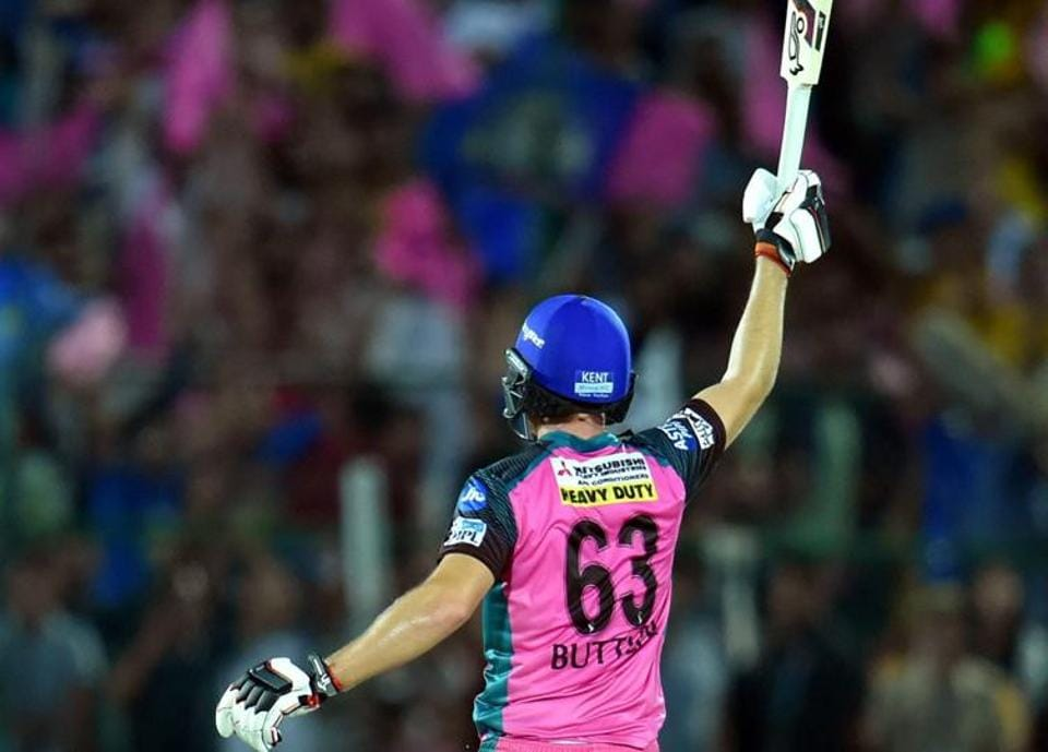 Buttler stayed unbeaten on 95 as RR secured a four-wicket win in the penultimate ball of the game. (PTI)
