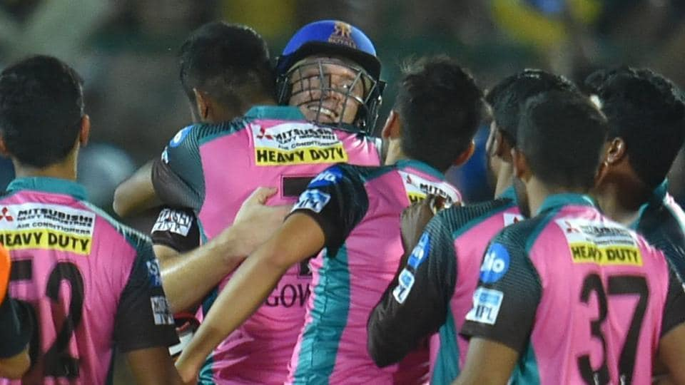 Rajasthan Royals edged out Chennai Super Kings by four wickets in a thrilling IPL 2018 encounter at the Sawai Mansingh Stadium in Jaipur on Friday. (PTI)
