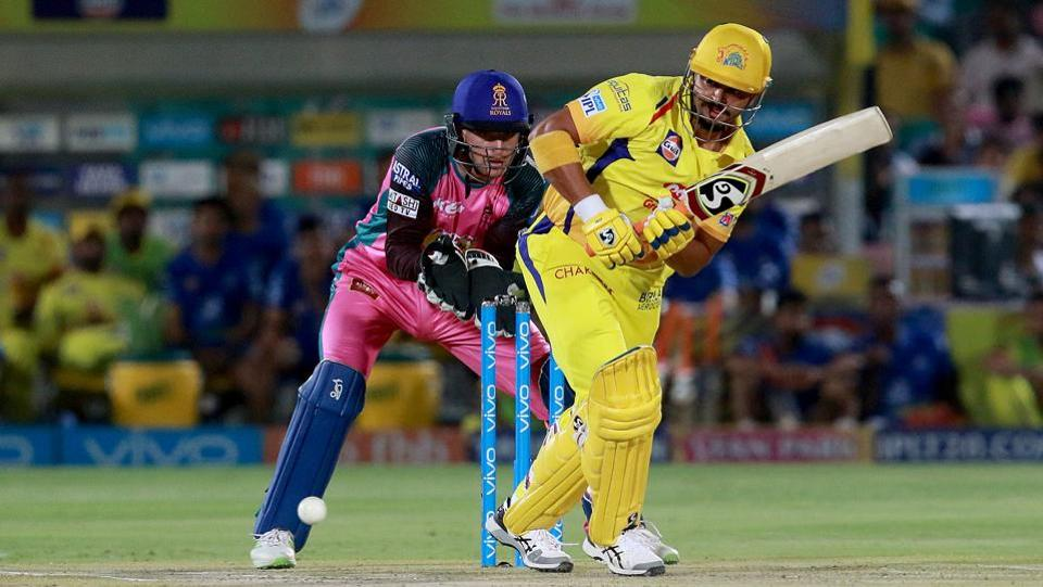 Suresh Raina got into the groove soon as CSK got off to a bright start. (BCCI)