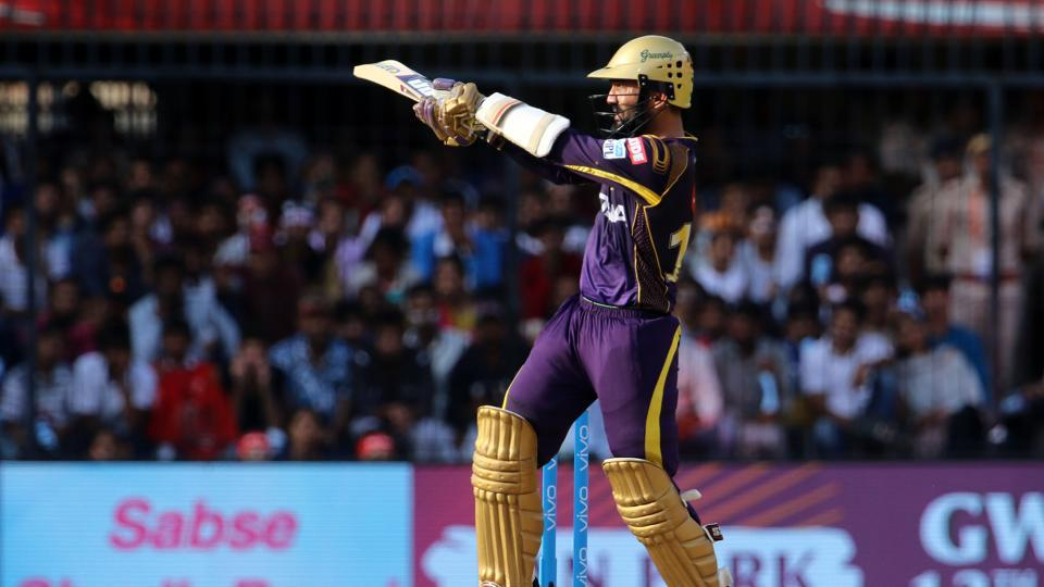 KKR captain Dinesh Karthik contributed 50 off 23 balls as KKR reached 245/6 in 20 overs. (BCCI)