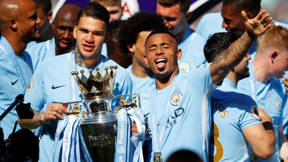 Gabriel Jesus scored a late winner to Manchester City's tally to 100 points in this year's Premier League.