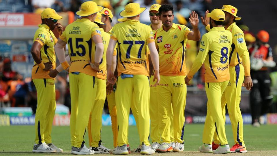 But Chennai Super Kings pulled things back, taking wickets at important junctures to restrict Sunrisers Hyderabad to 179/4. (BCCI)