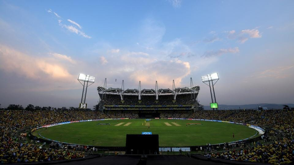 The Maharashtra Cricket Association Cricket Stadium in Pune is the adopted home of Chennai Super Kings following protests over the Cauvery river issue in the Tamil Nadu capital (BCCI)