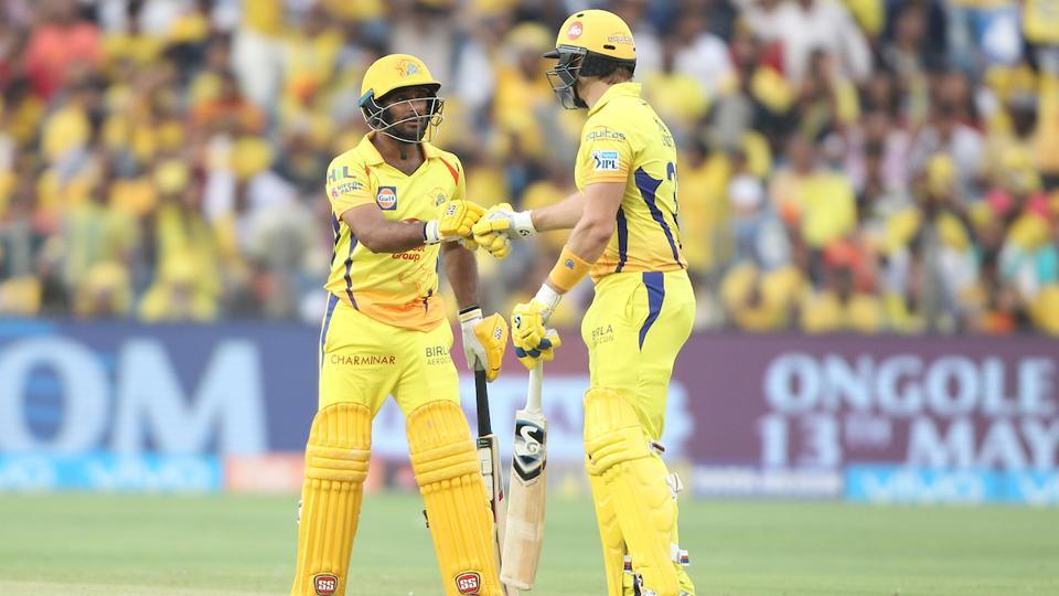 In reply, Ambati Rayudu and Shane Watson started brilliantly in their chase, putting together an opening partnership of 134 runs. (BCCI)