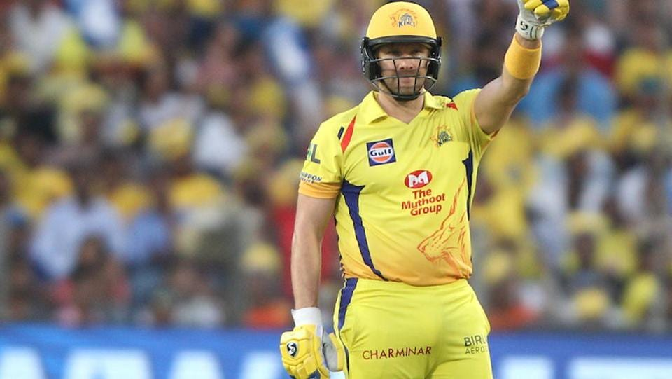 Shane Watson scored an important half-century (57) which set their chase on target. (BCCI)