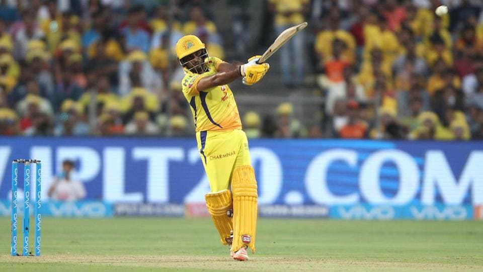 Ambati Rayudu slammed his maiden century in Indian Premier League, scoring 100 not out off 62 balls which included seven fours and sixes each. (BCCI)