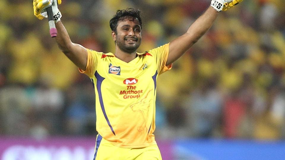 Ambati Rayudu guided Chennai Super Kings to an eight-wicket win in Indian Premier League 2018 (IPL 2018) over Sunrisers Hyderabad at the Maharashtra Cricket Association Cricket Stadium in Pune on Sunday. (BCCI)