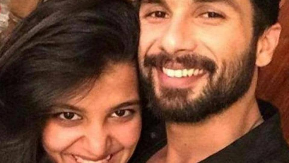 Sanah and Shahid Kapoor worked together in Shaandaar.