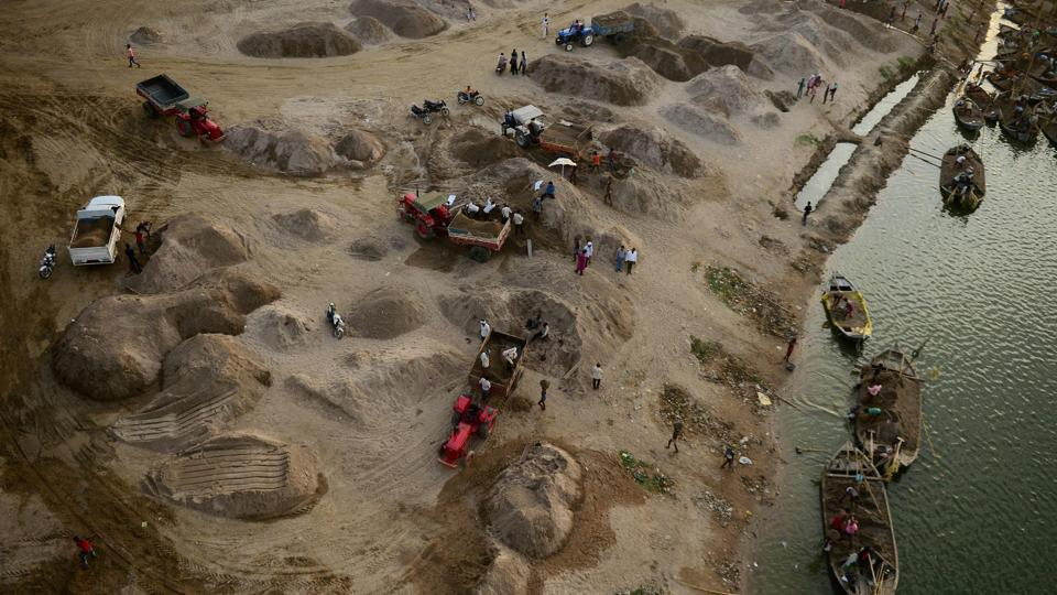 Rajasthan studies if sand could be manufactured from mine waste