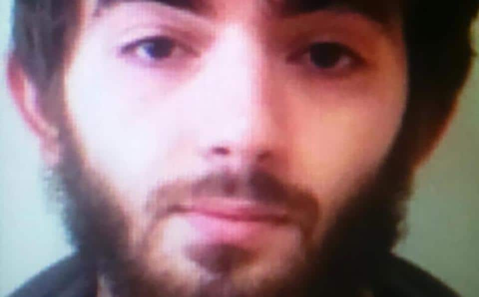 This undated handout photo obtained on May 13, 2018 shows Khamzat Azimov, a 20-year-old Frenchman born in Chechnya who killed one man and wounded four other people in a stabbing spree in central Paris on Saturday night.
