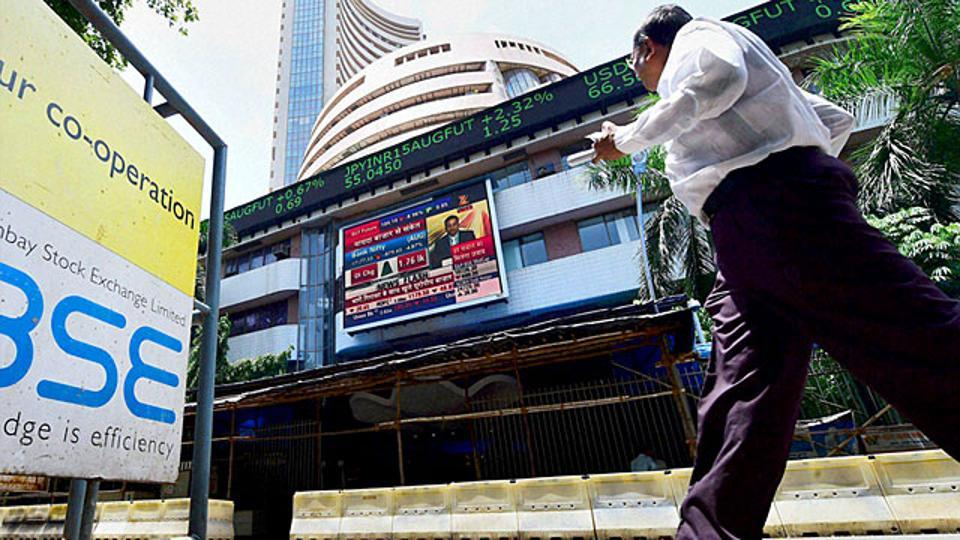 Sensex flat with positive bias; Nifty above 10756