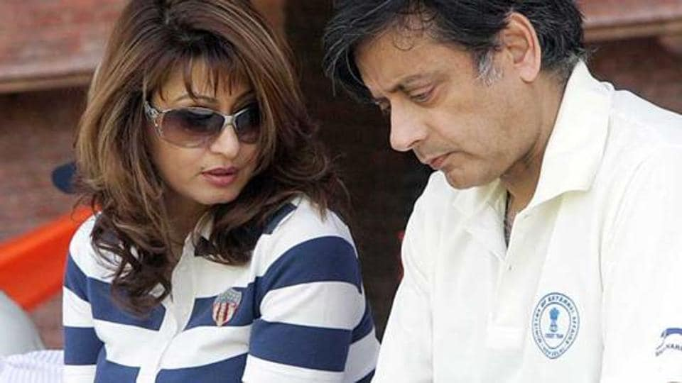 Sunanda Pushkar and Shashi Tharoor were married on August 22, 2010.  Tharoor was on Monday charged with abetting Pushkar's suicide in 2014.