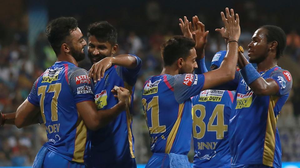 Jofra Archer's strikes and Jos Buttler's fifth consecutive fifty helped Rajasthan Royals beat Mumbai Indians by seven wickets to stay alive in the race for the play-offs. (BCCI)
