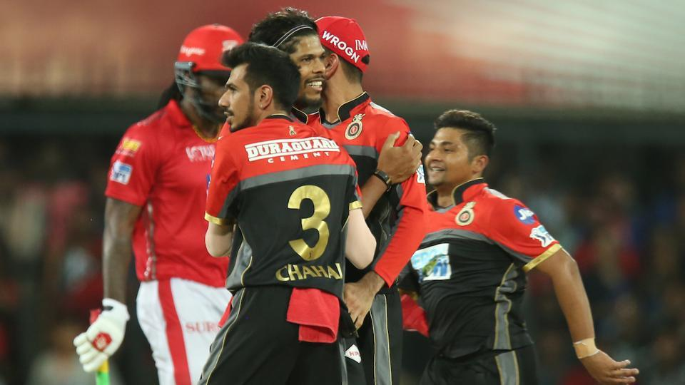 Umesh Yadav of the Royal Challengers Bangalore was named Man-of-the-Match for his brilliant performance against Kings XI Punjab in the Indian Premier League 2018 (IPL 2018) at the Holkar Cricket Stadium in Indore on Monday. (BCCI)