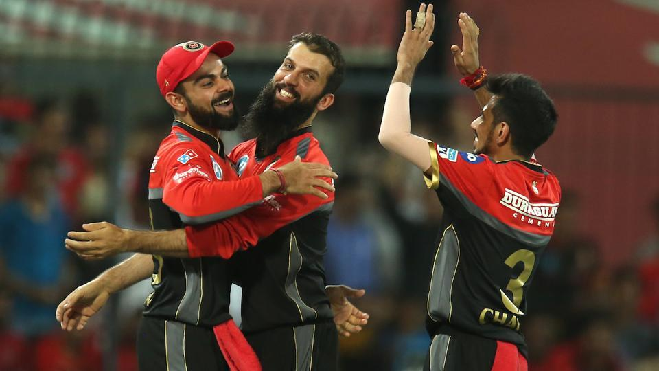 Royal Challengers Bangalore bowlers kept taking wickets regularly. (BCCI)
