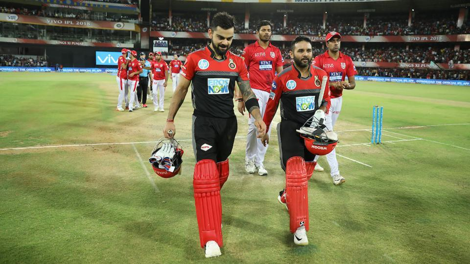 Royal Challengers Bangalore reached home with 10 wickets and 71 deliveries to spare, thereby keeping themselves alive for the IPL 2018 playoff race. (BCCI)