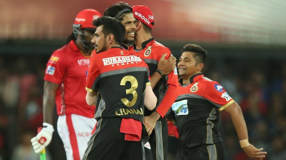 IPL 2018,Kings XI Punjab,Royal Challengers Bangalore