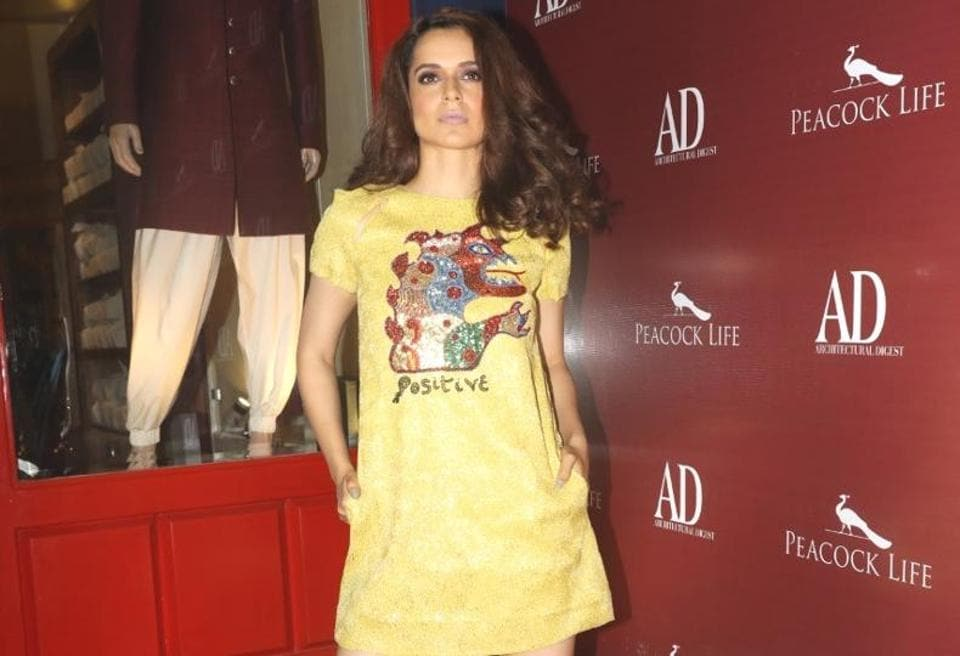 You need to see Kangana Ranaut's yellow dress as soon as possible. (Instagram)
