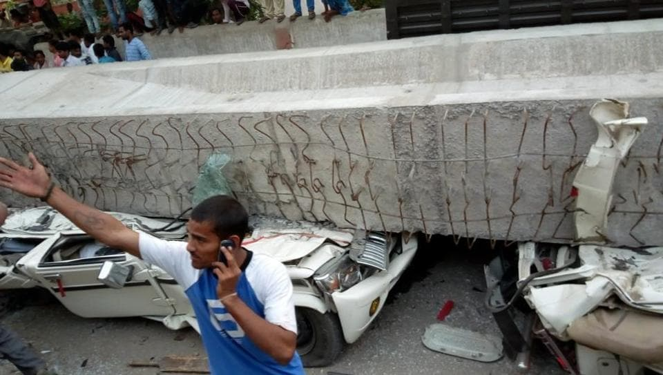 Collapsing flyover kills 18 in Varanasi