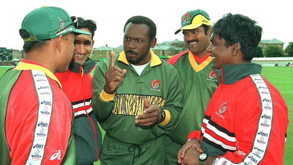 Gordon Greenidge led Bangladesh to the ICC Trophy title in Malaysia in 1997, and also steered the cricket minnows to their first World Cup in 1999.