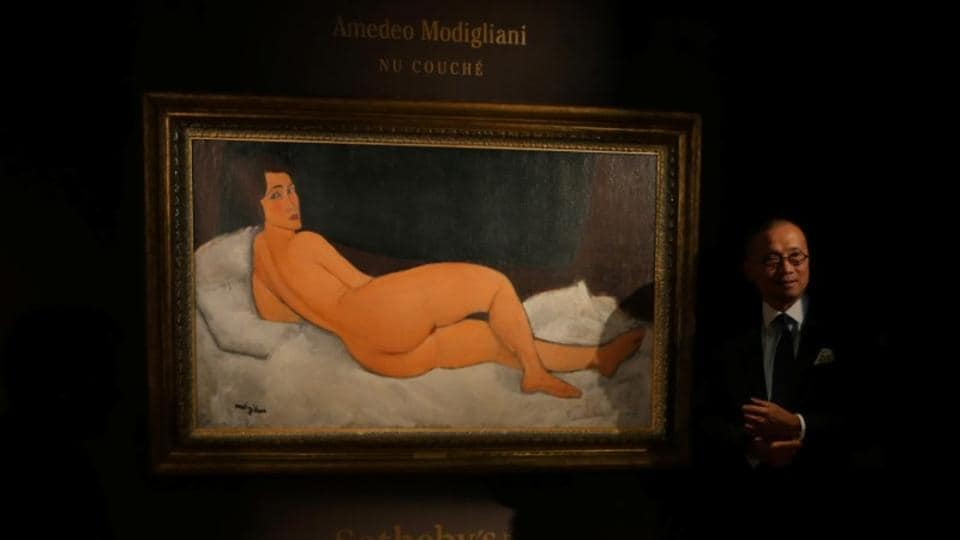 Modigliani,Reclining Nude,Auction