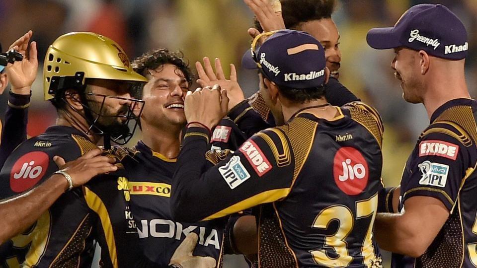 Kolkata Knight Riders won nine from sixteen matches in IPL 2018. (Photo Source - IANS)