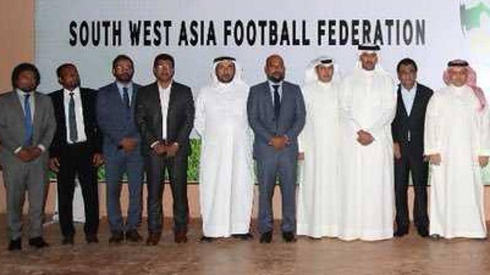 South West Asia Football Federation,AIFF,AFC