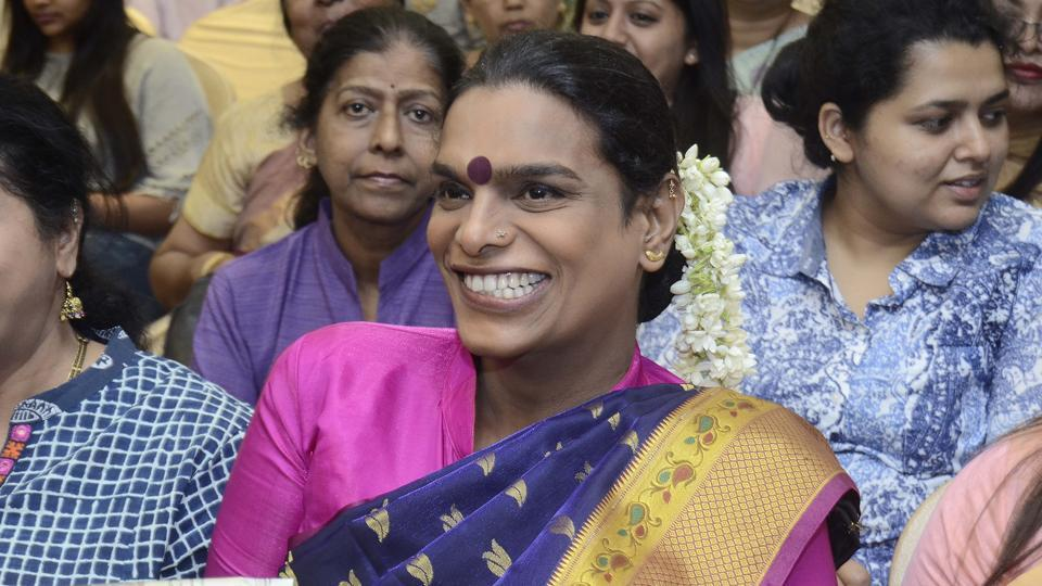 Mother's Day: Do not label motherhood to a particular gender, said Gauri Sawant, a transgender activist, while sharing her experience of motherhood during an event on Sunday. Sawant is the first transgender mother in the city. (Ravindra Joshi/HT PHOTO)