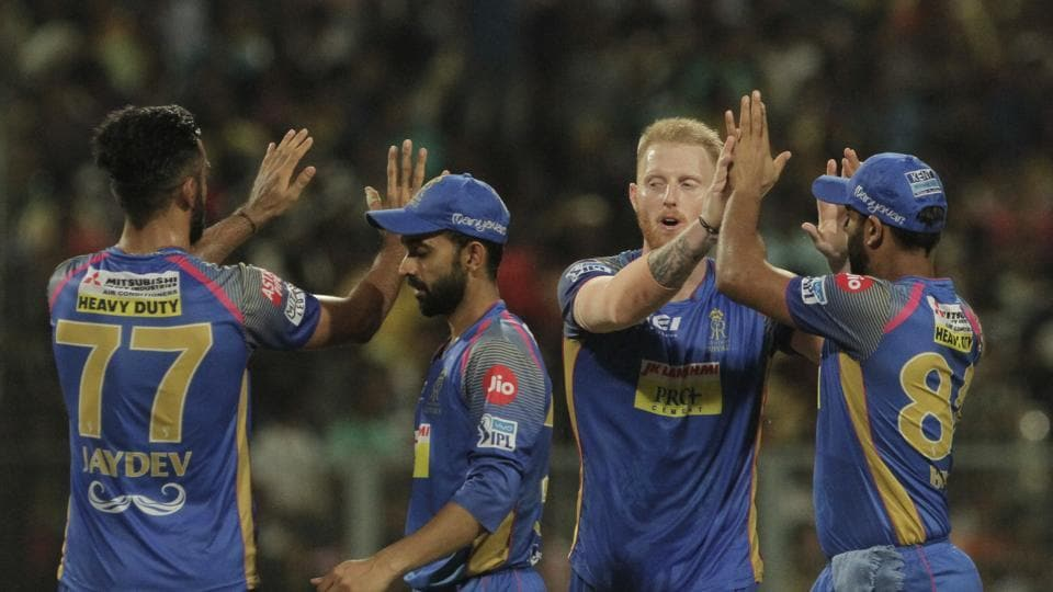 Stokes picked up Lynn (45) and Nitish Rana (4) to end with magnificent figures of 4-1-15-3. (AP)