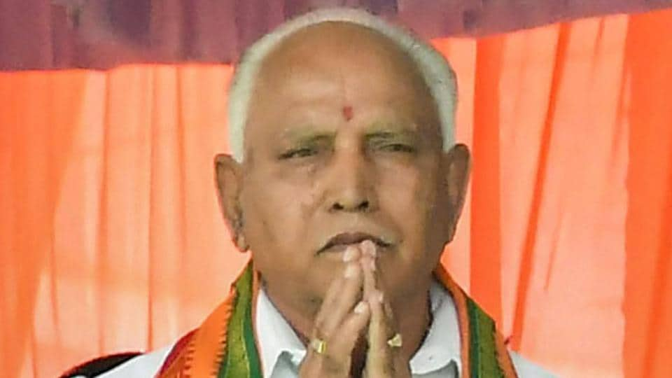 File photo of Bharatiya Janata Party leader BS Yeddyurappa, who has been invited to form the government in Karnataka.