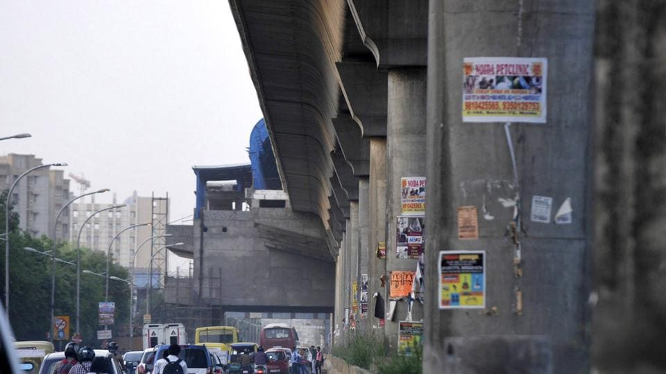The 6.8km Noida City Center-Sector 62 metro link will be ready by 2018.