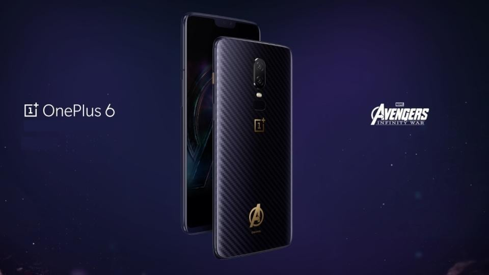 Oneplus 6 Marvel Avengers Limited Edition,Oneplus 6 China,Oneplus 6 Avengers Edition