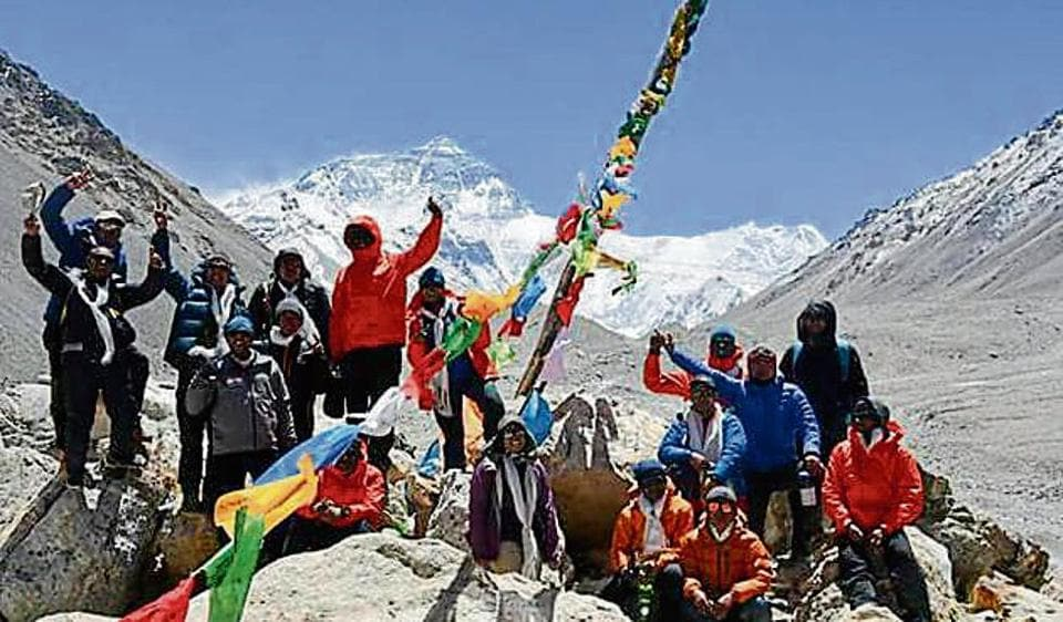 Maharashtra teens scale Everest,tribal students,Mount Everest