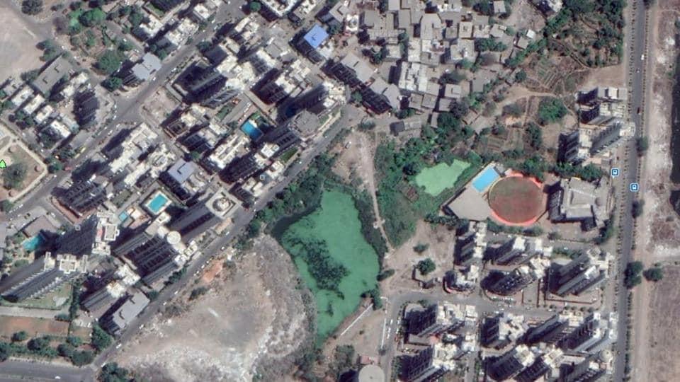 mumbai news,debris dumping,satellite images