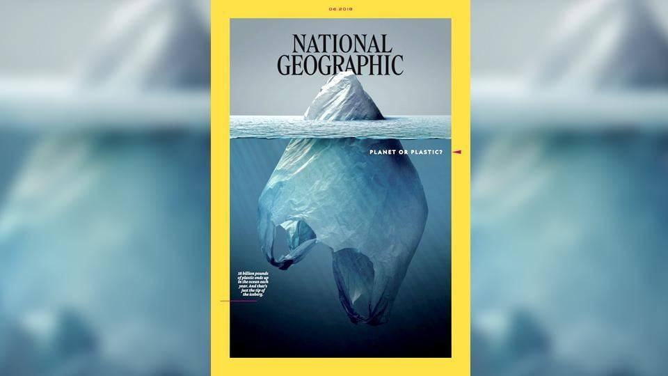 National Geographic cover,plastic pollution,Vaughn Wallace