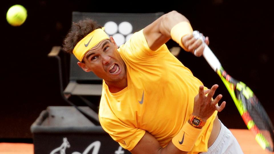 Rafael Nadal impressed with Denis Shapovalov after beating teenager at Italian Open