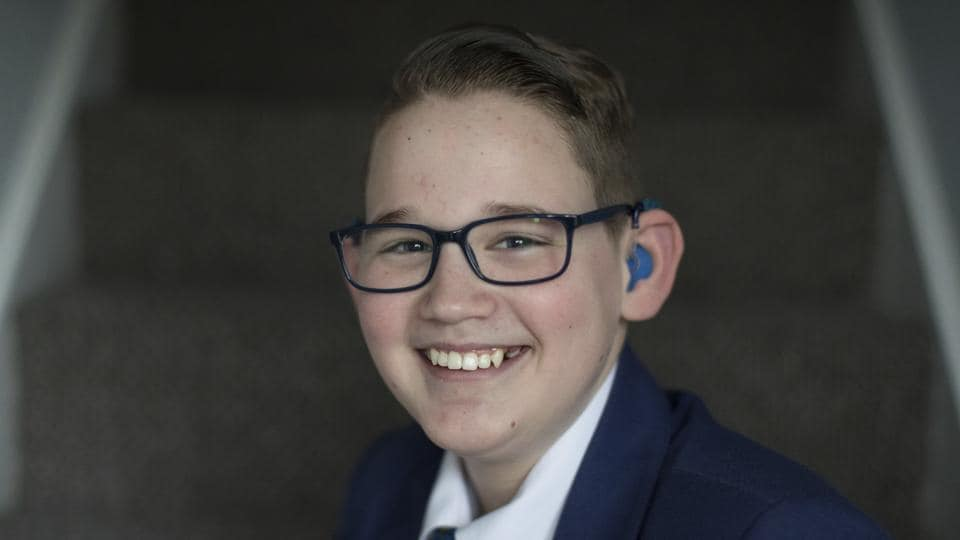 2,640 members of the public have been invited to watch the arrivals of Harry and Meghan at Windsor Castle including 14-year old Reuben Litherland, who was born deaf and has started lunchtime lessons to teach sign language at his school. Only around 600 guests will attend the actual ceremony at St. George's Chapel as well as the lunchtime reception hosted by the Queen at St. George's Hall. (Aaron Chown / AP)
