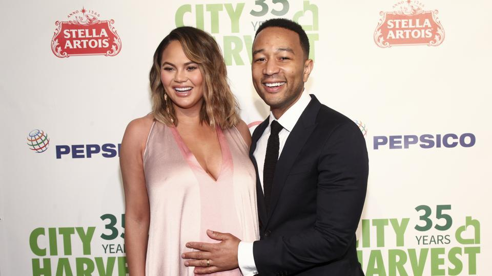 Chrissy Teigen,John Legend,Luna Legend