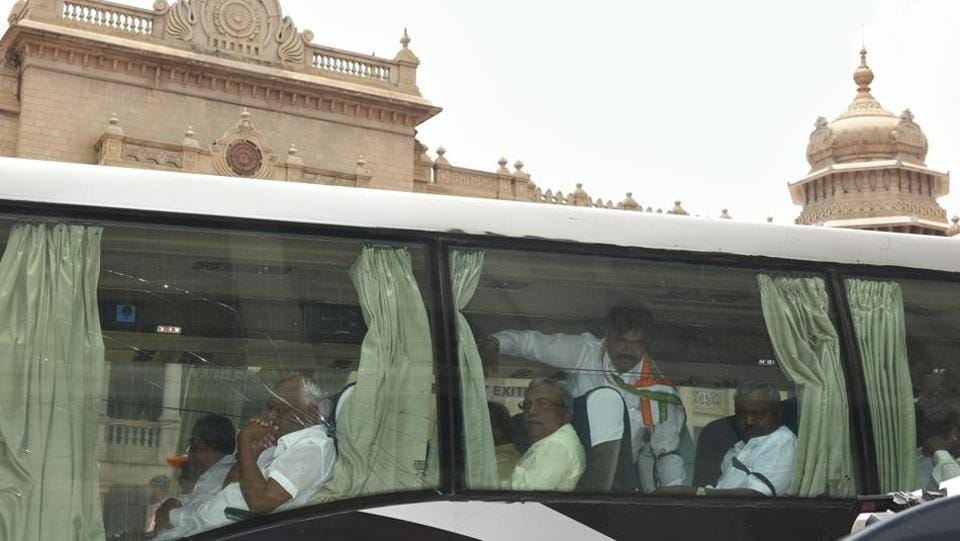 Congress,JD(S),BJP