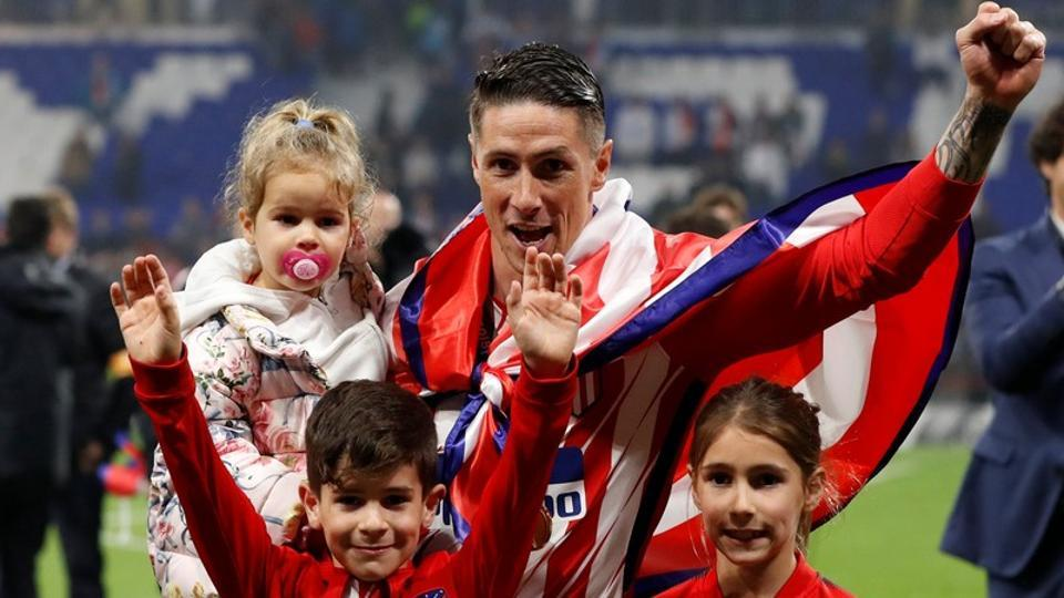 Atletico Madrid boyhood fan Fernando Torres finally ended his long wait for a trophy with the club.  (REUTERS)