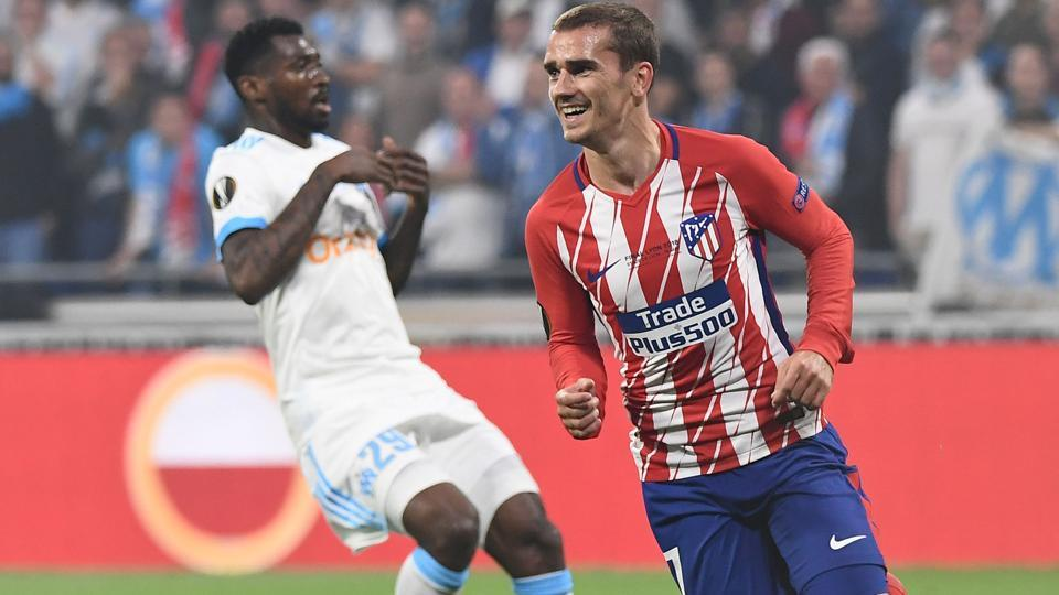 Speculation is rife that Antoine Griezmann will join Barcelona next season. If so, the French forward chose the perfect way to end his association with Atletico Madrid. (AFP)