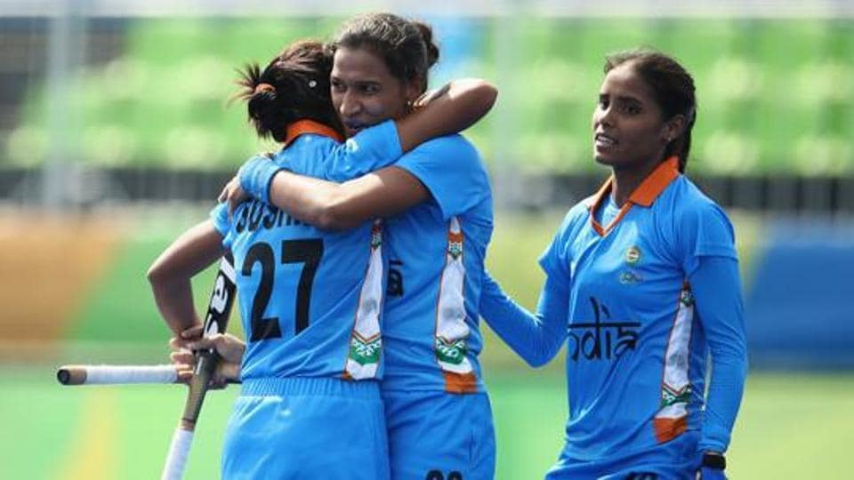 Vandana Katariya (right) was one of the goal-scorers for India against Malaysia in the Asian Champions Trophy match on Thursday.