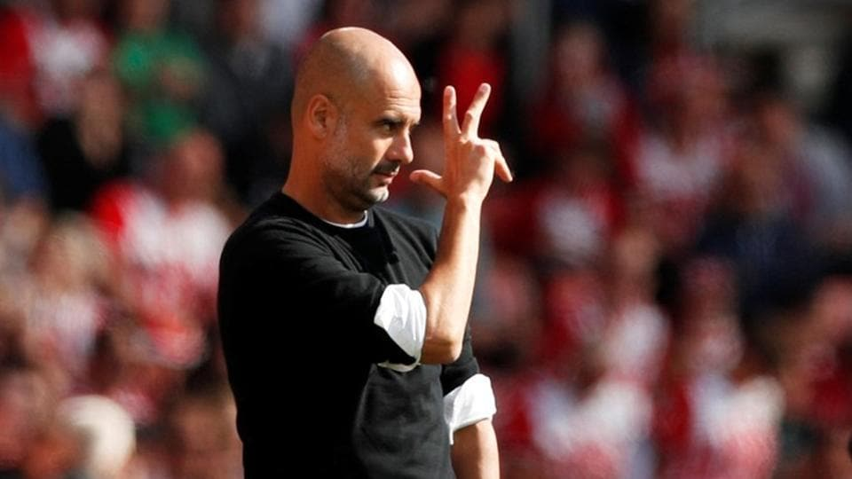 Pep Guardiola,Manchester City F.C.,Premier League