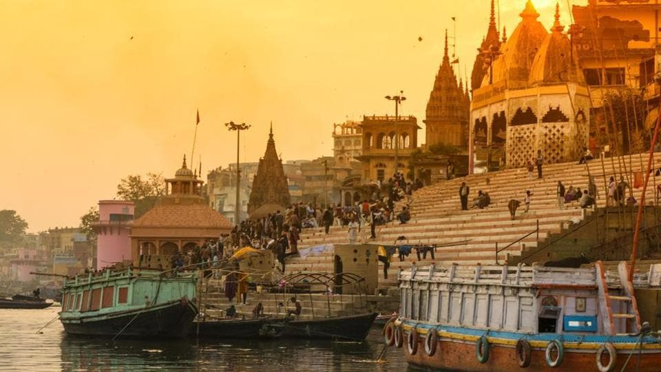 Varanasi ranks high in the list of popular religious places in India.