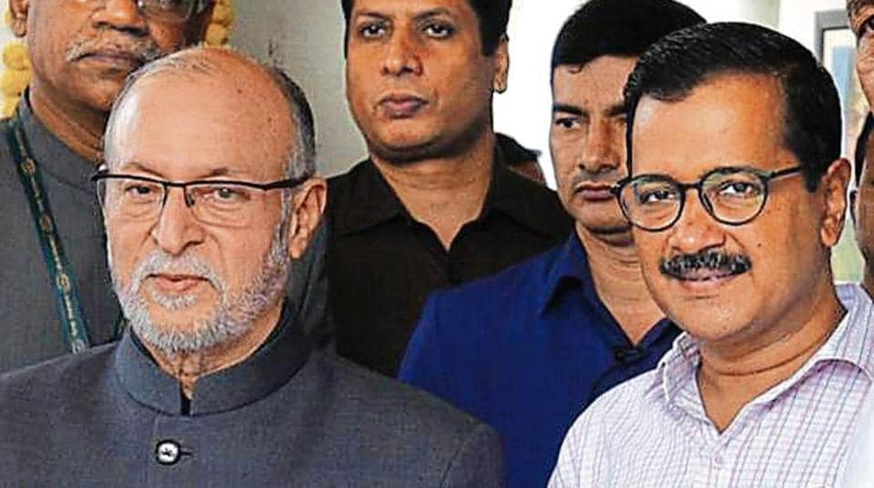 A war of words has erupted between L-G Anil Baijal and CM Arvind Kejriwal over the impending water crisis.