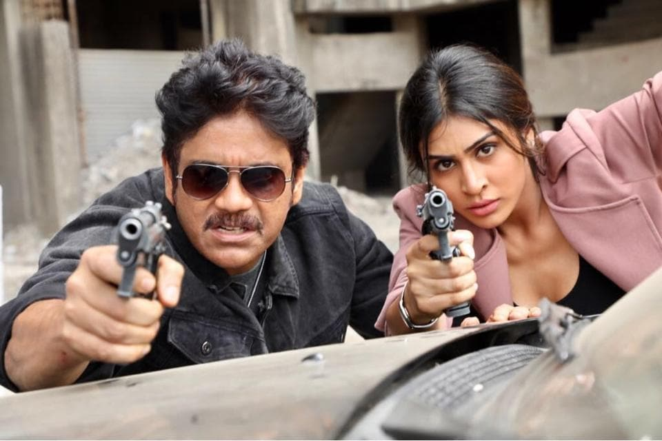 Nagarjuna and Myra Sareen feature in crucial roles in Ram Gopal Varma's upcoming cop drama, Officer.